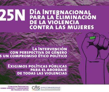 2019 25 de noviembre - Día Internacional de la Eliminación de la violencia contra la Mujer-01